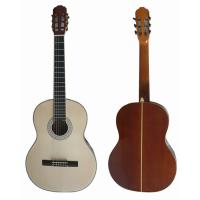 Wholesale 39 inch 4/4 Bleach Spruce Top Sapele Back Wood Classical Guitar CG3921-B from china suppliers