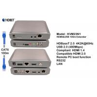 Quality HDBaseT HDMI Cat-6 Extender Kit for 4k UHD Supporting Without Any Signal Delay for sale