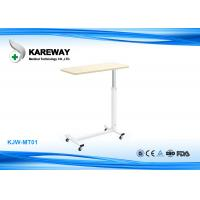 Wholesale Folding Patient Hospital Tray Table , ABS Bedside Table For Hospital Bed from china suppliers