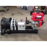 Wholesale 50KN Hiearns diesel engine Diesel Cable Winch pulling machine for pulling hoisting lifting from china suppliers