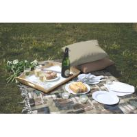 Wholesale Professional Antique Dining Fabric Table Cloths , Outdoor Table Linens from china suppliers