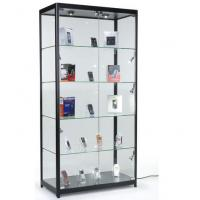 Wholesale 4 Fixed Shelves Cell Phone Showcase , Trophy Display Cabinets With Glass Doors from china suppliers