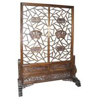 Wholesale Luxury Vintage Rose Wood Decorative Folding Screens For Restaurant Living Room from china suppliers