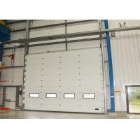 Wholesale High speed running Insulated Overhead Door with finger protect , section door from china suppliers