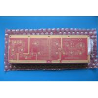 Wholesale High Frequency 10 Layer Hybrid PCB FR-4 Red Mask Transmitter Circuit Board from china suppliers