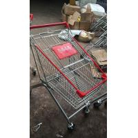 Wholesale Mini European Style Grocery Metal Supermarket Shopping Cart / Powder Coated Grocery Store Shopping Cart from china suppliers