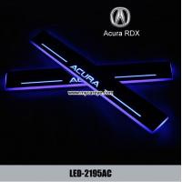 Wholesale Acura RDX car led door scuffs logo lights auto Welcome Pedal for sale from china suppliers