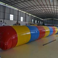 Wholesale Red And  Yellow PVC Interactive Games   inflatable water toys/ Inflatable Water Flipper With Air Pump from china suppliers