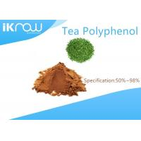 Wholesale Natural Tea Polyphenol Brown Powder Cas 84650-60-2 Green Tea Extract from china suppliers