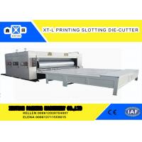 Wholesale High Precision Cardboard Printing Slotting Machine 70 Pieces / Min Semi - Automatic from china suppliers