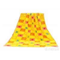Wholesale 60*120cm Yellow Beach Towels , Personalized Pool Towels Eco Friendly from china suppliers