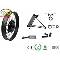 Wholesale 26 * 4.0 Gearless Fat Tire Electric Bike Conversion Kit With PAS System from china suppliers
