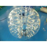 Wholesale 0.7mm Clear TPU Kids Bumper Ball, Inflatable Body Zorb Ball For Fun from china suppliers
