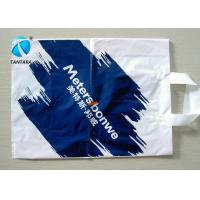 Wholesale Personalized colorful Plastic Shopping Bag with handle and the environment from china suppliers