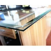 Wholesale 5MM bevel edge toughened glass with CCC certificate from china suppliers