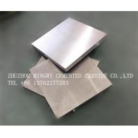 Wholesale High Wear Resistance YG6 Tungsten Carbide Plate , Length 10-200mm from china suppliers