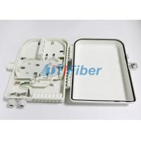 Quality 16 Port Optical Fiber Distribution Box With 1*16 PLC Fiber Splitter for sale