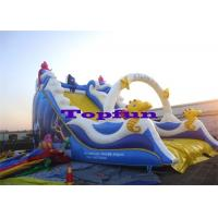 Wholesale Residential Fish Children Inflatable Slides Playground Game Inflatable Fun For Kids from china suppliers