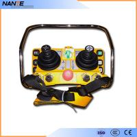 Wholesale Double Joystick Remote Control Wireless Hoist Remote Control 5 Level IP65 from china suppliers
