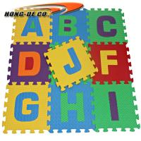 Wholesale Eco-friendly Alphabet Puzzle Mat with Alphabet , Number from china suppliers