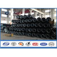 Wholesale 69KV 70FT Hot dip Galvanized Power Transmission Pole Polygonal Dodecagonal from china suppliers
