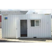 Wholesale Movable storage prefab container house , steel frame modular homes with PVC cover from china suppliers