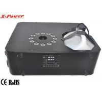 Wholesale Professional DMX Stage Up Fog Machine 1500 Watt With 12 * 3w RGB LED  X-01 from china suppliers