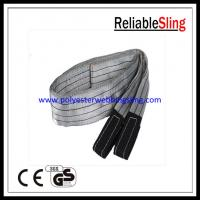 Wholesale SF 6 4T Eye - Eye Flat Webbing Sling , Polyester Lifting Sling / Belt EN 1492-1 from china suppliers