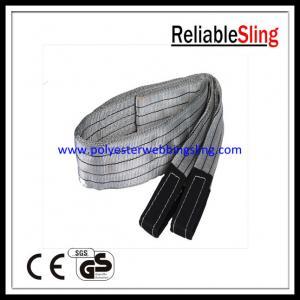 Wholesale SF 6 4T Eye - Eye Flat Webbing Sling , Polyester Lifting Sling / Belt EN 1492-1 from china suppliers