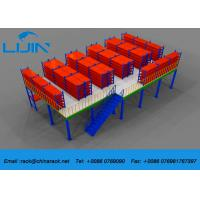 Wholesale Plywood Board Industrial Mezzanine Floors System With Staircase Custom Size from china suppliers