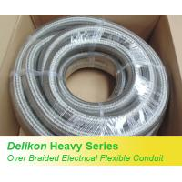 Buy cheap Delikon Heavy Series Over Braided Flexible Conduit Heavy Series Conduit Fittings from wholesalers