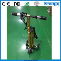 Wholesale Fastest Folding Three Wheel Electric Scooter bicycle Motor Bike , Electric Vehicle from china suppliers