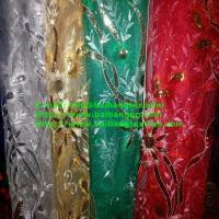 Wholesale FASHIONAL MESH SEQUIN EMBROIDERY FABRIC from china suppliers