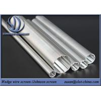Wholesale Wedge Wire Screen Wire Mesh Screen Cylinder For  Water Treatment from china suppliers