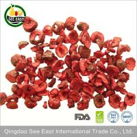 Wholesale HACCP Certified snack fruits freeze dried red sour cherry dried cherries from china suppliers