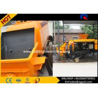 Wholesale Mini Hydraulic Diesel Concrete Pump With Double Circuit Opening System from china suppliers