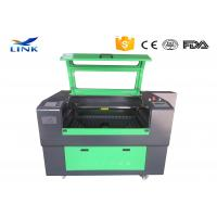 Wholesale Portable CNC Laser Machine , Stepper Motor Co2 Laser Cutting Equipment from china suppliers