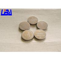 Wholesale Button CR2032 Mno2 Lithium Ion Battery Cell  Non Rechargeable Light Weight from china suppliers