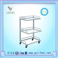 Wholesale fashional beauty salon furnituWhite practical cheap hair salon working Trolley with wheels from china suppliers