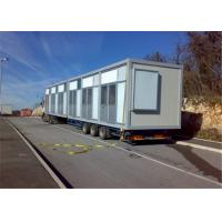 Buy cheap Fireproof Prefabricated Steel Framed Houses with Luxury Sandwich Panel from wholesalers