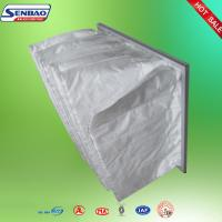 Wholesale White Pocket Air Filters Aluminum Alloy Frame For Clean Room from china suppliers