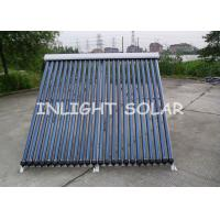 Wholesale 24 Tubes Evacuated Tube Solar Collector , Solar Water Heating Systems For Homes from china suppliers