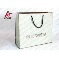 Wholesale Handmade Custom Color Print Shopping Recycle Paper Bag with Handle , UV Finishing from china suppliers