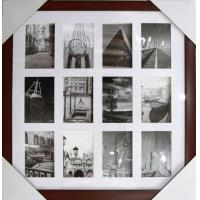 Wholesale wholesale plastic photo frame brown photoframe multi photo frame square photo pictureframe from china suppliers