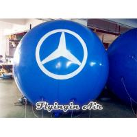 Wholesale Pvc Helium Balloon, Blue Inflatable Floating Ball for Advertisement and Business Show from china suppliers