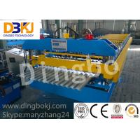 Wholesale Full Automatic Roofing Sheet Roll Forming Machine Knudson Roll Former 5.5Kw from china suppliers