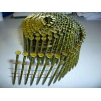 Buy cheap 15 degree wire coil nails from wholesalers