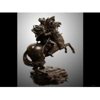 Buy cheap Frp Imitation Of Napoleon Riding Like Copper from wholesalers