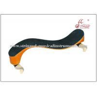 Wholesale Wooden String Instrument Accessories Black / orange Violin Shoulder Rest 4/4 - 1/2 Size from china suppliers