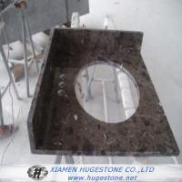 Buy cheap Top Polished Deep Red Sink Countertops, Sink Countertops for Kitchen from wholesalers